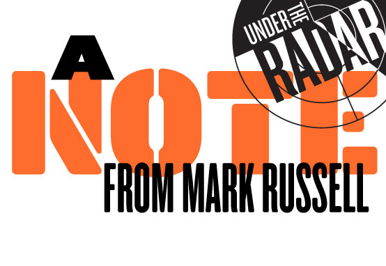 A Note From Mark Russell