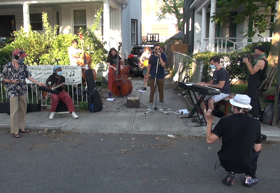 Roy Nathanson's 5pm Porch Concert Ensemble: World of Fire