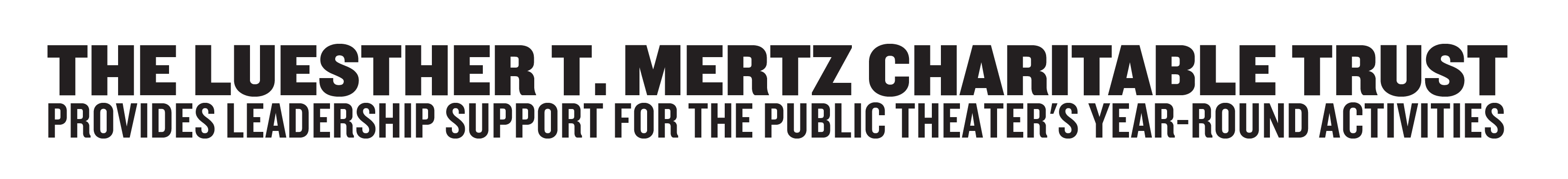 Luesther T. Mertz Foundation